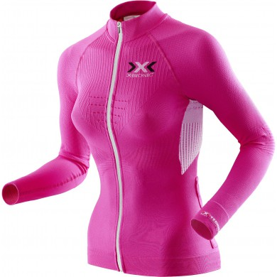 X-Bionic Bike The Trick Longsleeve Full Zip pink Damen