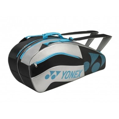 Yonex Racketbag Tournament Active 2016 schwarz/silber 6er