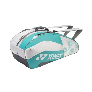 Yonex Racketbag Tournament Active 2016 weiss/aqua 6er