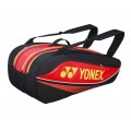 Yonex Racketbag Tournament Basic 2015 rot/schwarz 9er