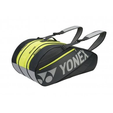 Yonex Racketbag Tournament Basic 2016 schwarz/gelb 9er