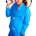 Babolat Jacket Club New blau Girls