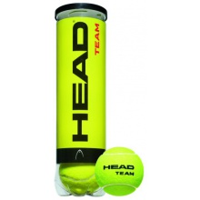 Head Team Tennisb�lle 4er