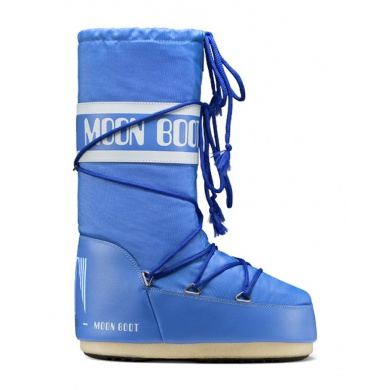 MoonBoot Nylon azurblau (35-38)