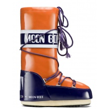 MoonBoot Vinil orange/kobalt Damen (35-38)