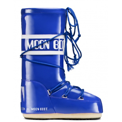 MoonBoot Vinil royalblau Damen (35-38)