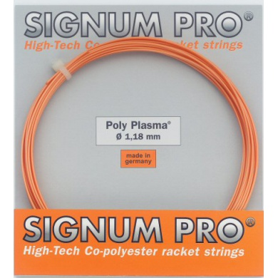 Signum Pro Poly Plasma orange Tennissaite