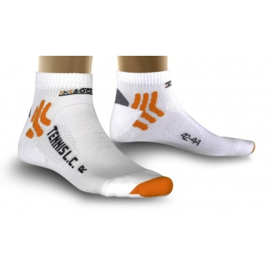 X-Socks Tennissocke Low Cut weiss Herren