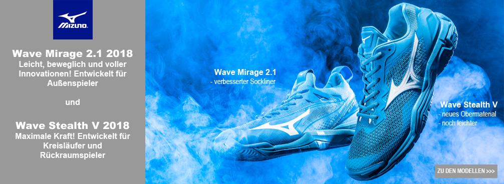 Mizuno Wave Stealth V / Mirage 2.1 Handballschuhe