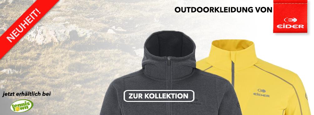 Outdoorkleidung von Eider