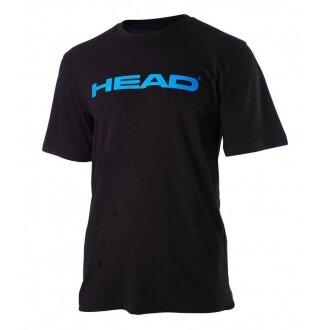 Head Tshirt Ivan schwarz/blau Herren (Größen S+M)