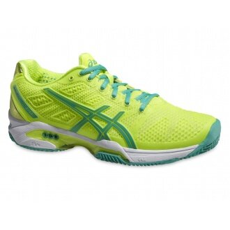 Asics Gel Solution Speed 2 Clay gelb Tennisschuhe Damen