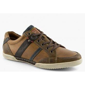 Australian Aldwin Leather braun Sneaker Herren (Gr��e 44)