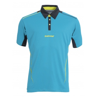 Babolat Polo Match Performance 2015 blau Herren