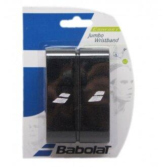 Babolat Schweissband Jumbo schwarz 2er