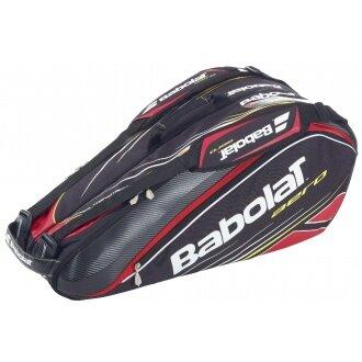 Babolat Racketbag Aero 2013 schwarz/rot 6er