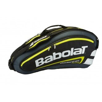 Babolat Racketbag Team Badminton 2015 gelb/schwarz 8er