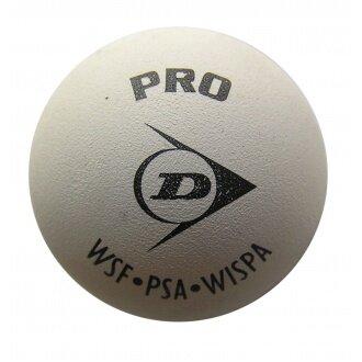 Dunlop Squashball Pro (2 Punkt) weiss