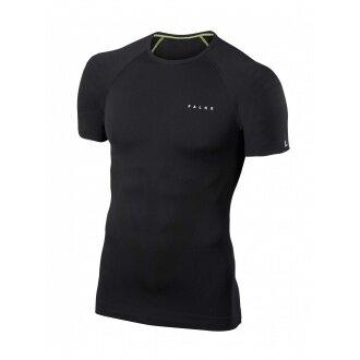 Falke Shirt Shortsleeve Athletic schwarz Herren