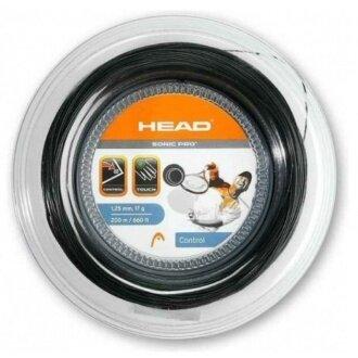 Head Sonic Pro schwarz 200 Meter Rolle