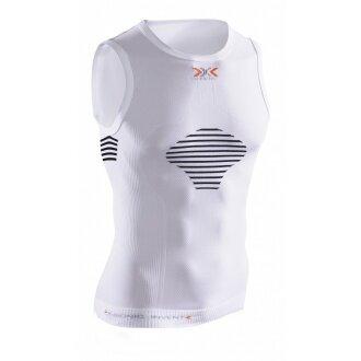 X-Bionic Invent Light Shirt Sleeveless weiss Herren (Größe S)
