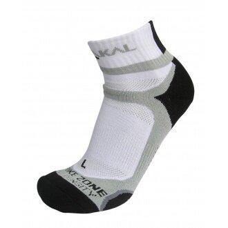 Karakal X4 Ankle Indoorsocke weiss/schwarz Herren