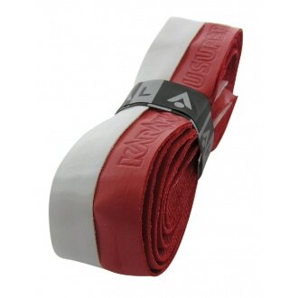 Karakal PU Super Grip DUO Basisband weiss/rot
