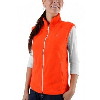 Limited Sports Weste Fleece Vyana mandarinrot Damen