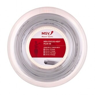 MSV Focus Hex Plus 38 weiss 200 Meter Rolle