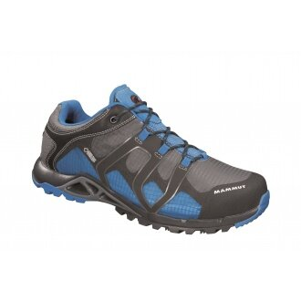 Mammut Comfort Low GTX Surround graphite/blau Outdoorschuhe Herren