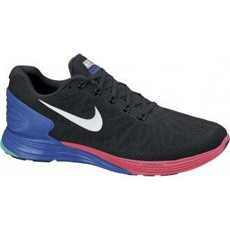 Nike Lunarglide 6 schwarz/blau Laufschuhe Herren (Größe 43+44,5)
