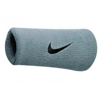 Nike Schweissband Swoosh Jumbo atomic silber 2er