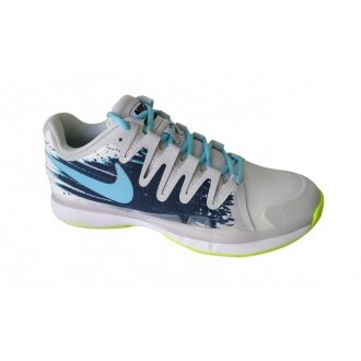 Nike Zoom Vapor 9.5 Tour CLAY weiss/blau Tennisschuhe Herren (Größe 44,5)