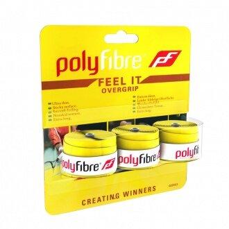 Polyfibre Feel It Overgrip 3er gelb