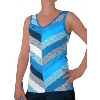 Esprit Tank Stripes 2011 blau Damen