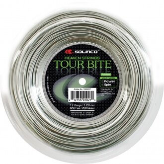 Solinco Tour Bite silber 200 Meter Rolle