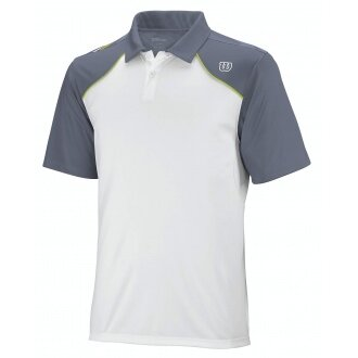 Wilson Polo Well Equipped weiss/grau Herren (Gr��e L)