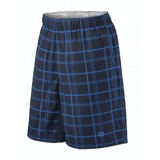 Wilson Short Rush 10 Plaid midnavy Herren