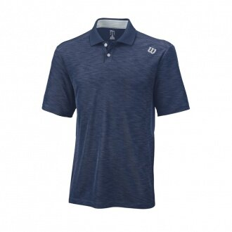 Wilson Polo Textured 2016 navy Herren