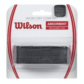 Wilson Micro Dry Comfort Basisband schwarz