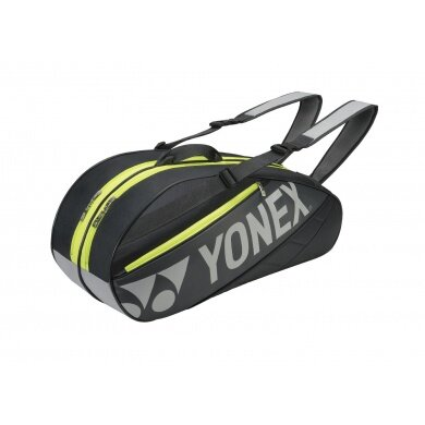 Yonex Racketbag Tournament Basic 2016 schwarz/gelb 6er