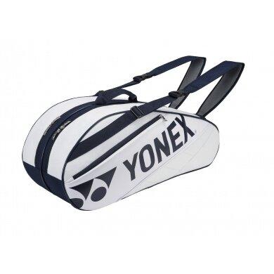 Yonex Racketbag Tournament Basic 2016 weiss/navy 6er