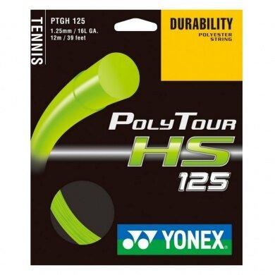 Besaitung mit Yonex Poly Tour HS