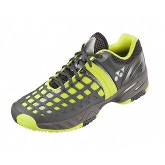 Yonex SHT Pro CLAY 2014 grau/gelb Tennisschuhe Herren (Größe 39,5+41)