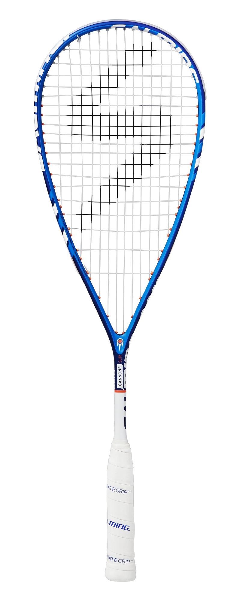 Salming Cannone Slim Aero 2017 blau Squashschläger