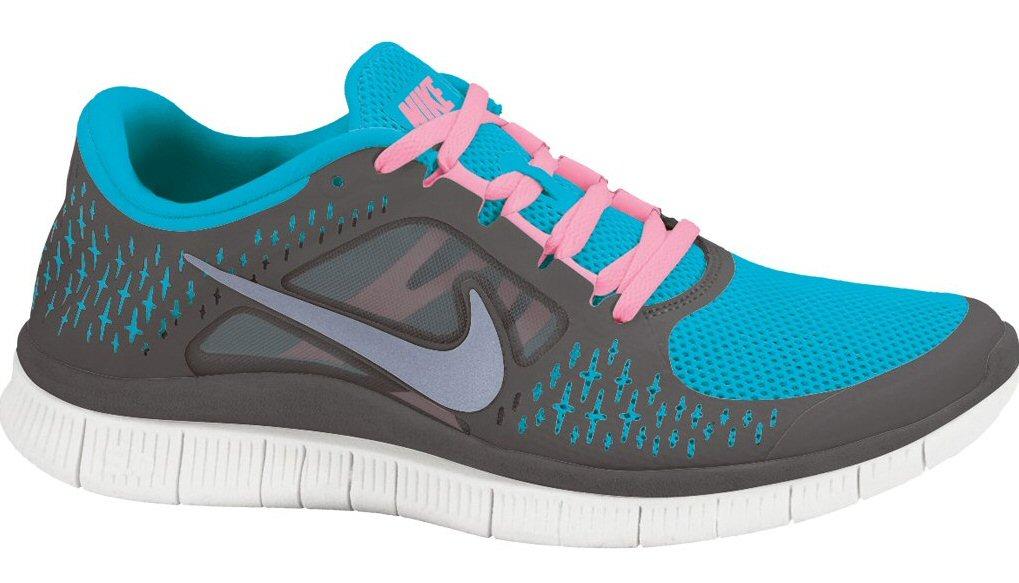 Nike Free 3 blau/grau Laufschuhe Herren