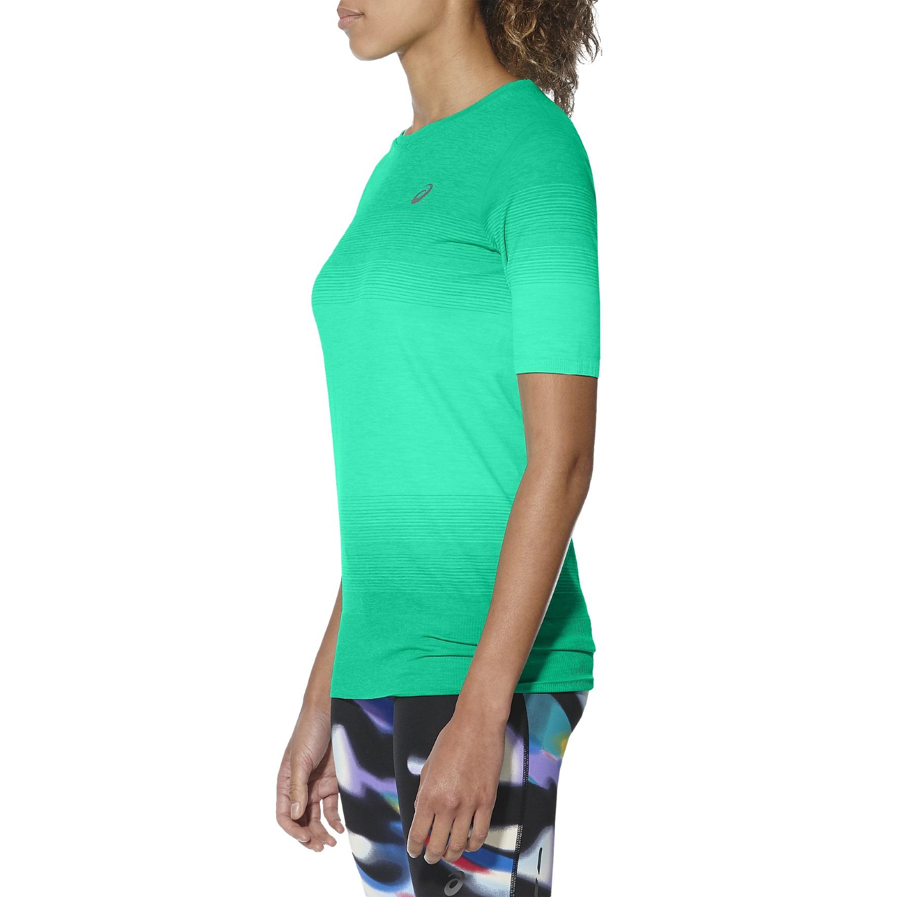 Asics Shirt FuzeX Seamless 2017 grün Damen