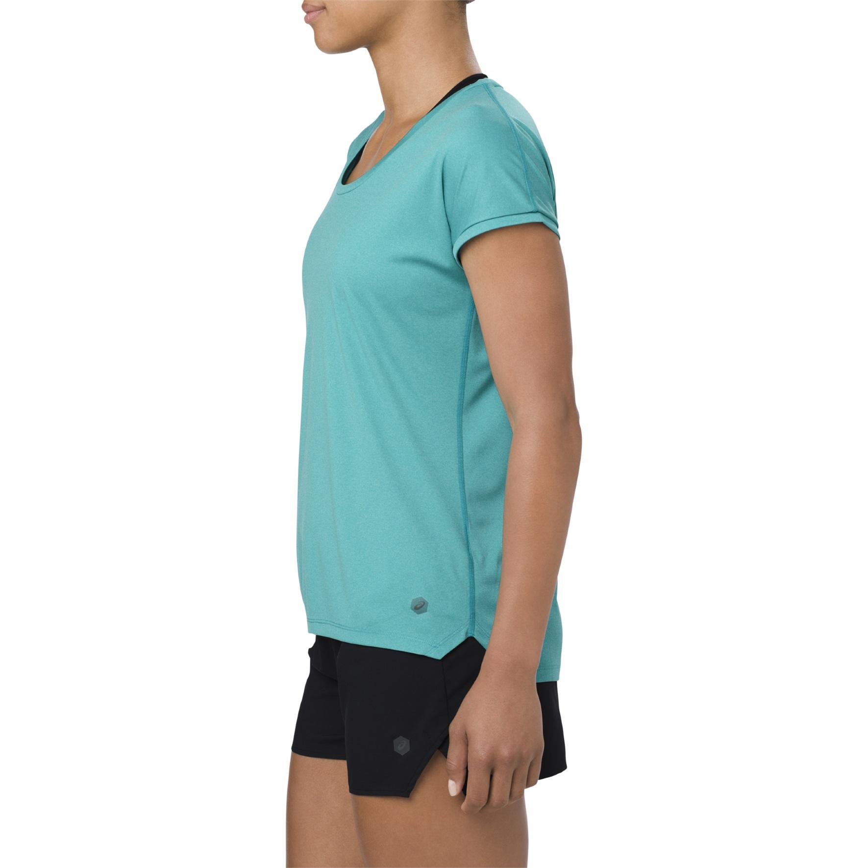 Asics Shirt Capsleeve 2018 türkis Damen