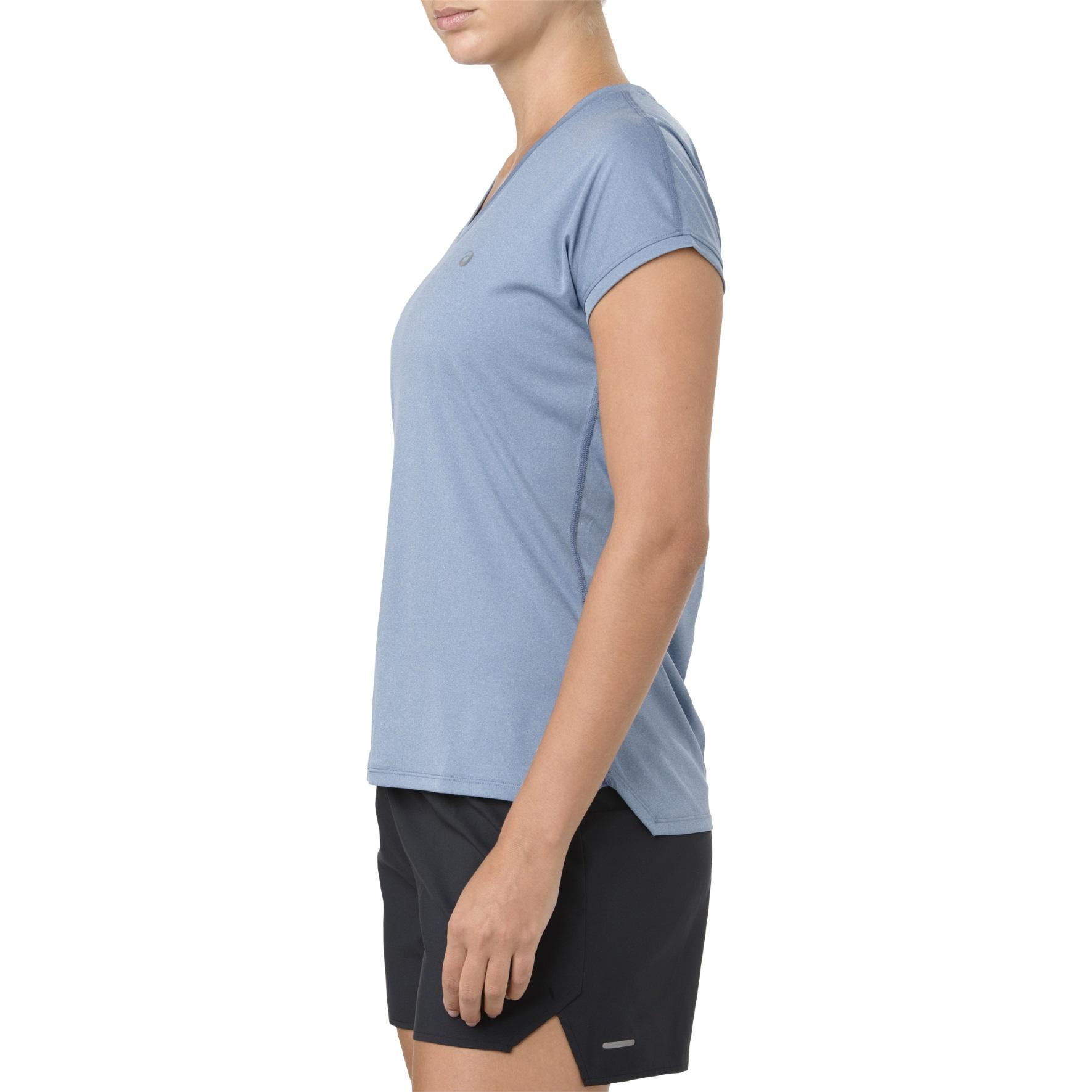 Asics Shirt Capsleeve 2018 blau Damen