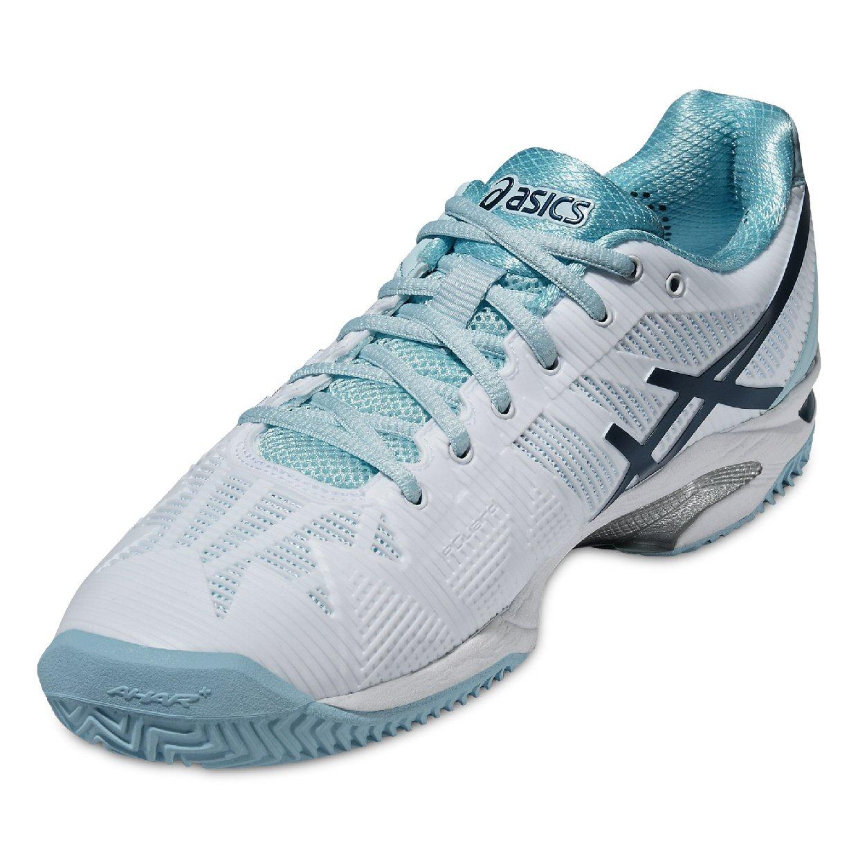 Details zu ASICS GEL SOLUTION SPEED 3 CLAY Damen Tennis Schuhe Tennisschuhe E651N 0161